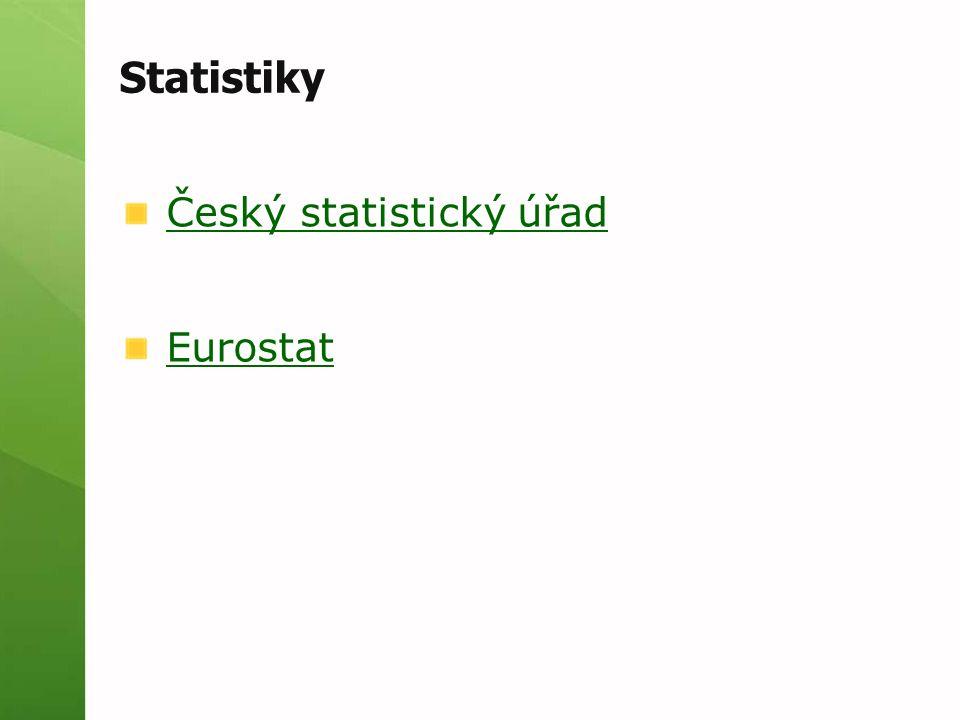 Statistiky Český statistický úřad Eurostat