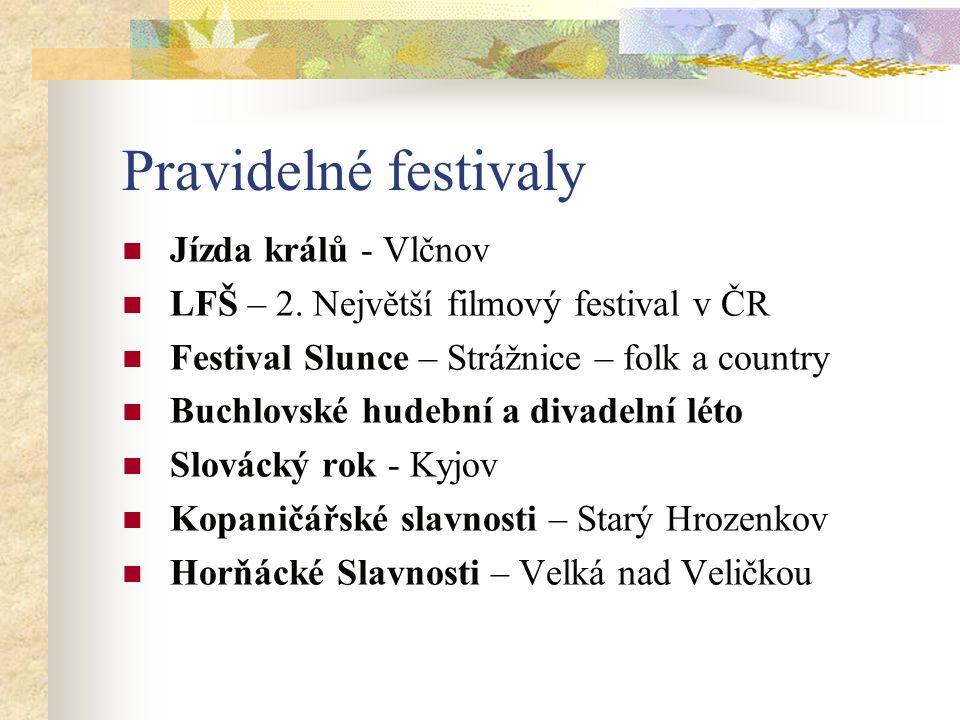Pravidelné festivaly Jízda králů - Vlčnov LFŠ – 2.