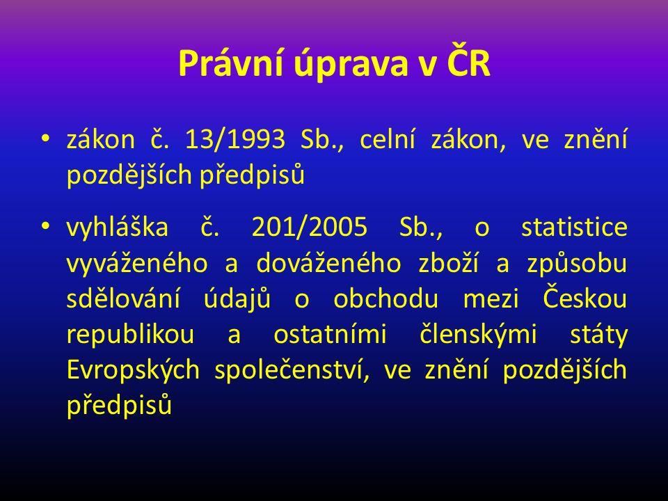 § 319 - Sběr, zpracování a kontrola statistických údajů (6) Český statistický úřad a ministerstvo stanoví vyhláškou a) rozsah údajů podle odstavce 4, b) úpravu referenčního období pro účely vykazování údajů podle odstavce 4, c) způsob dosažení prahů pro vykazování údajů podle odstavce 4 a jejich výši a d) způsob a postup pro sdělování údajů podle odstavce 4.