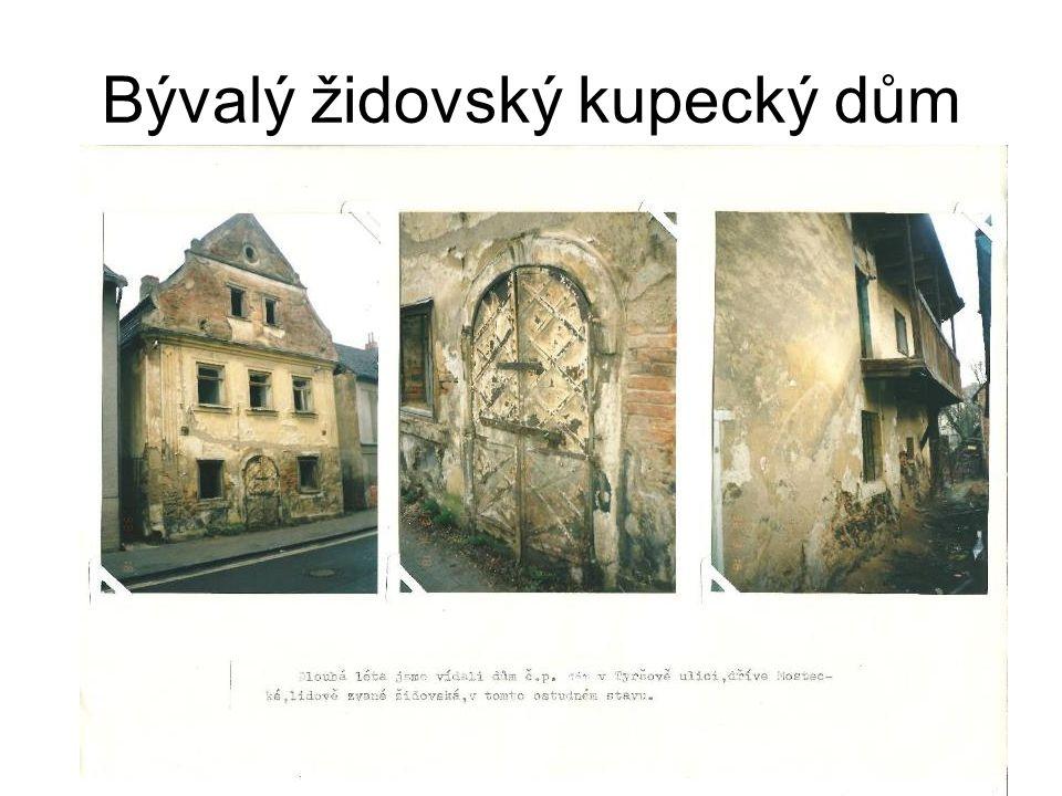 Bývalý židovský kupecký dům