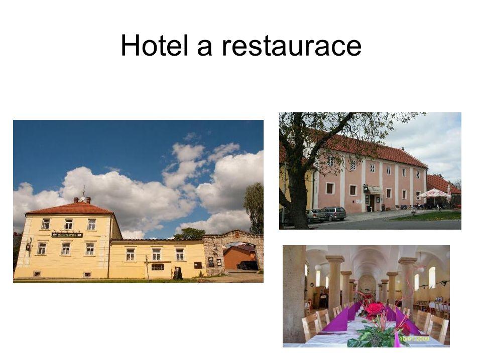 Hotel a restaurace