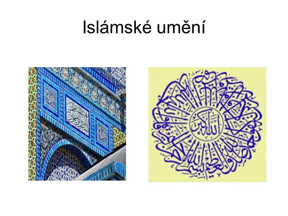 Charakteristika - na východě vznikly arabské kmeny, které přijaly učení proroka Mohameda za své nové náboženství --- islám – od 7.