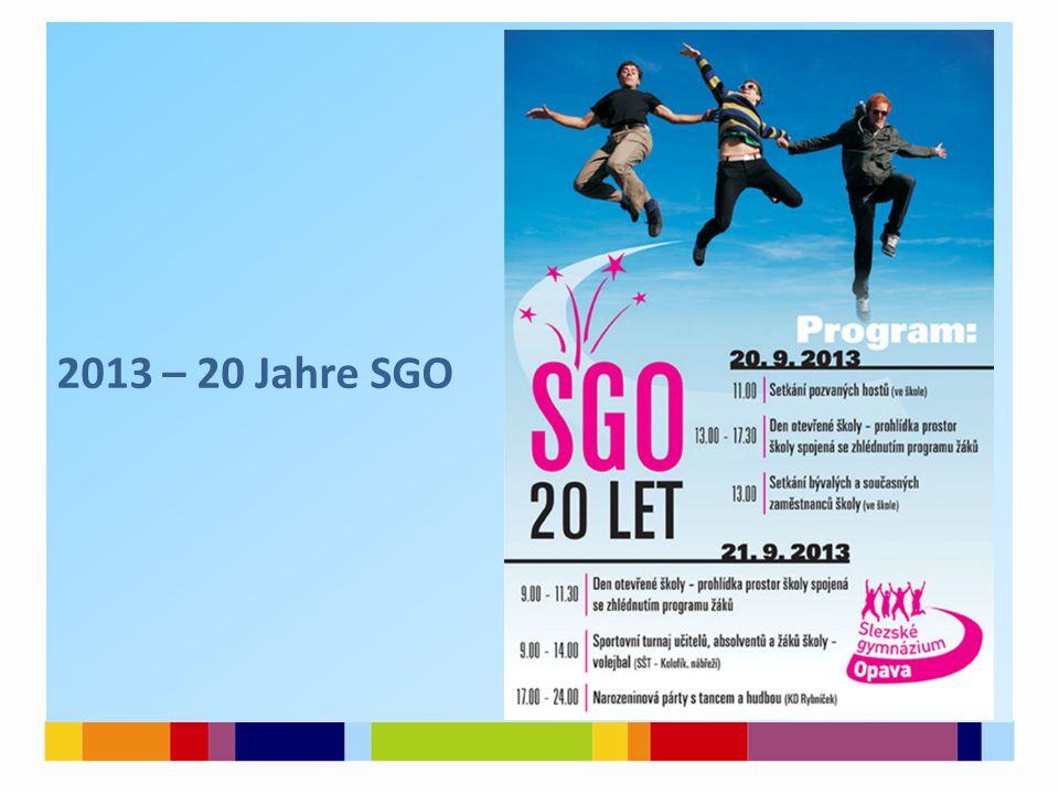 2013 – 20 Jahre SGO