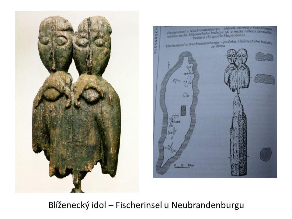 Blíženecký idol – Fischerinsel u Neubrandenburgu