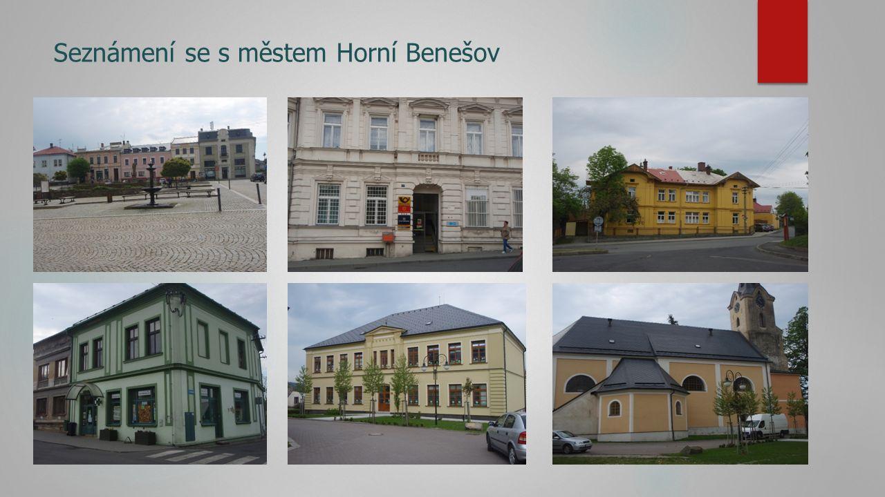 Seznámení se s městem Horní Benešov