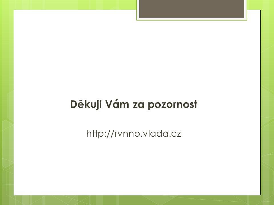 Děkuji Vám za pozornost http://rvnno.vlada.cz