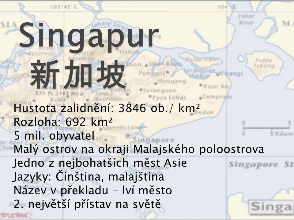 Hustota zalidnění: 3846 ob./ km² Rozloha: 692 km² 5 mil.
