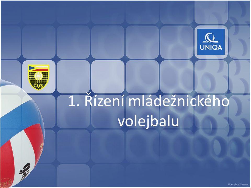 1. Řízení mládežnického volejbalu