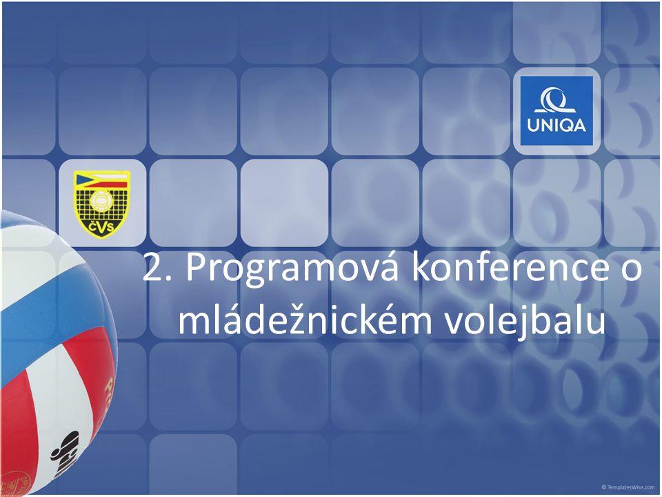 2. Programová konference o mládežnickém volejbalu