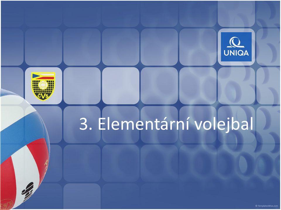 3. Elementární volejbal