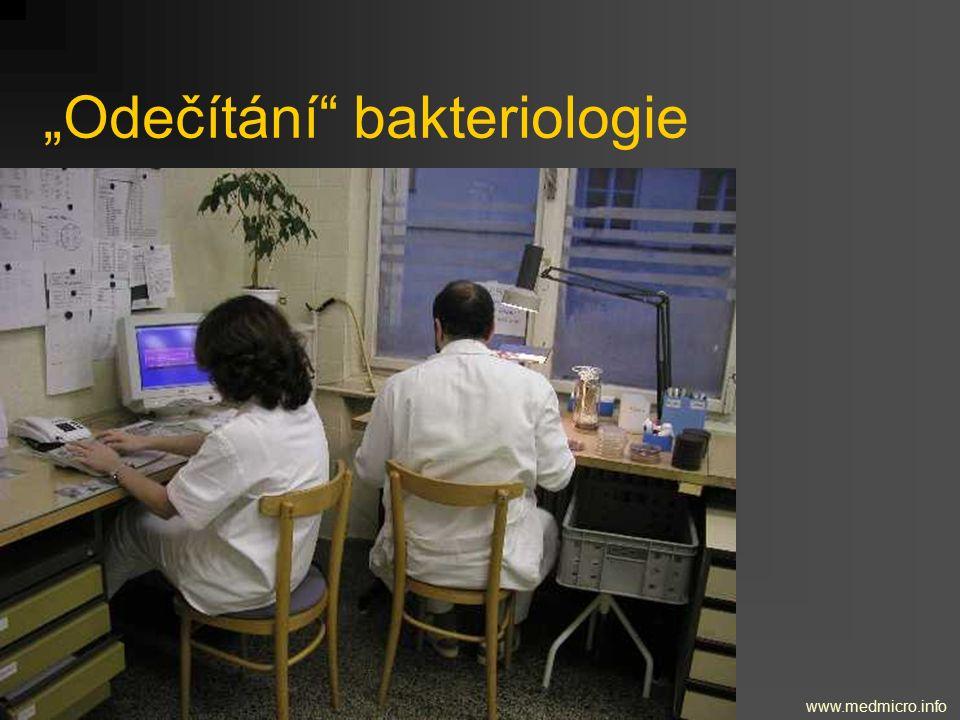 """""""Odečítání"""" bakteriologie www.medmicro.info"""