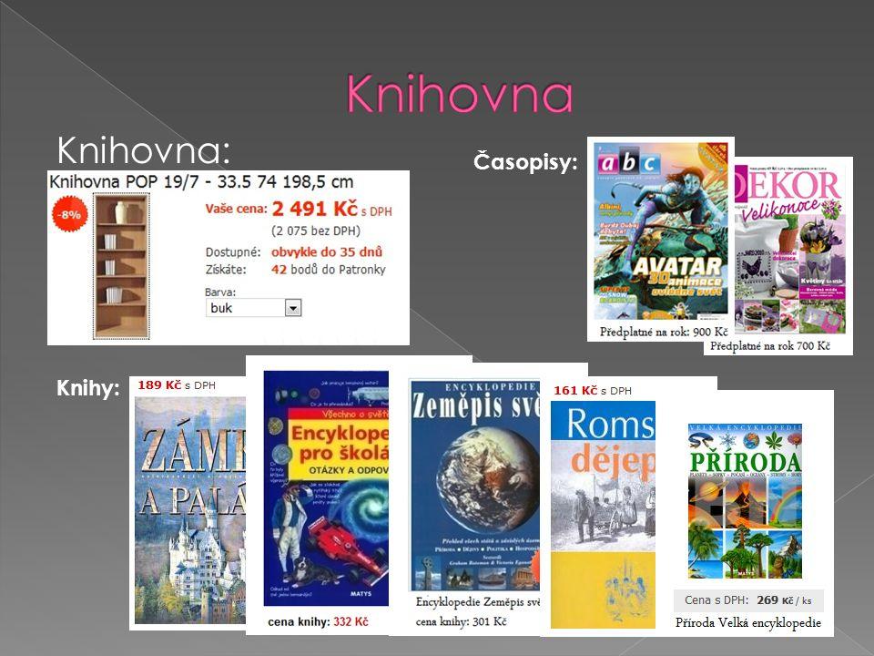 Knihovna: Knihy: Časopisy: