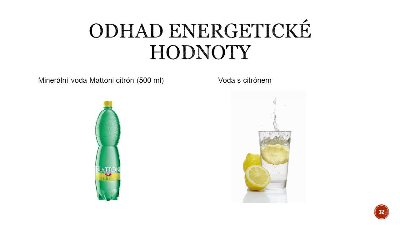 Minerální voda Mattoni citrón (500 ml) Voda s citrónem 32