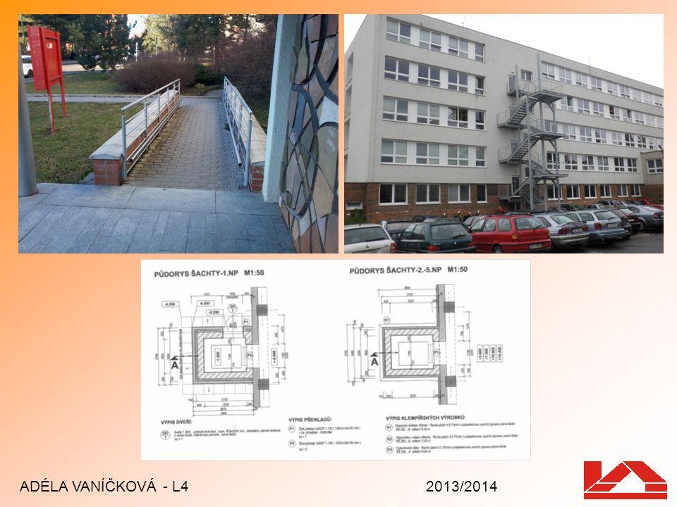 School garden Revitalization started in 2008 Self-seeded trees removed Green vegetation among houses ADÉLA VANÍČKOVÁ - L4 2013/2014 Školní zahrada před a po revitalizaci