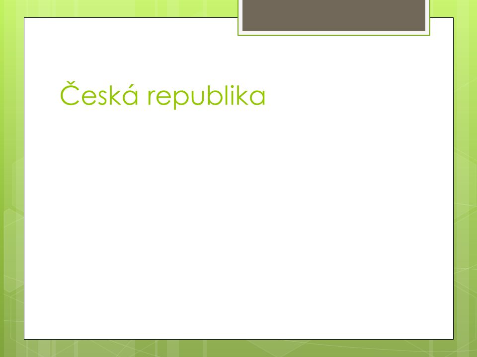 Česká republika