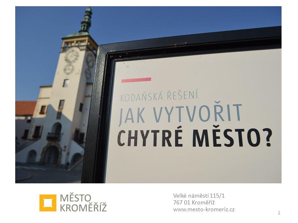 Velké náměstí 115/1 767 01 Kroměříž www.mesto-kromeriz.cz 2