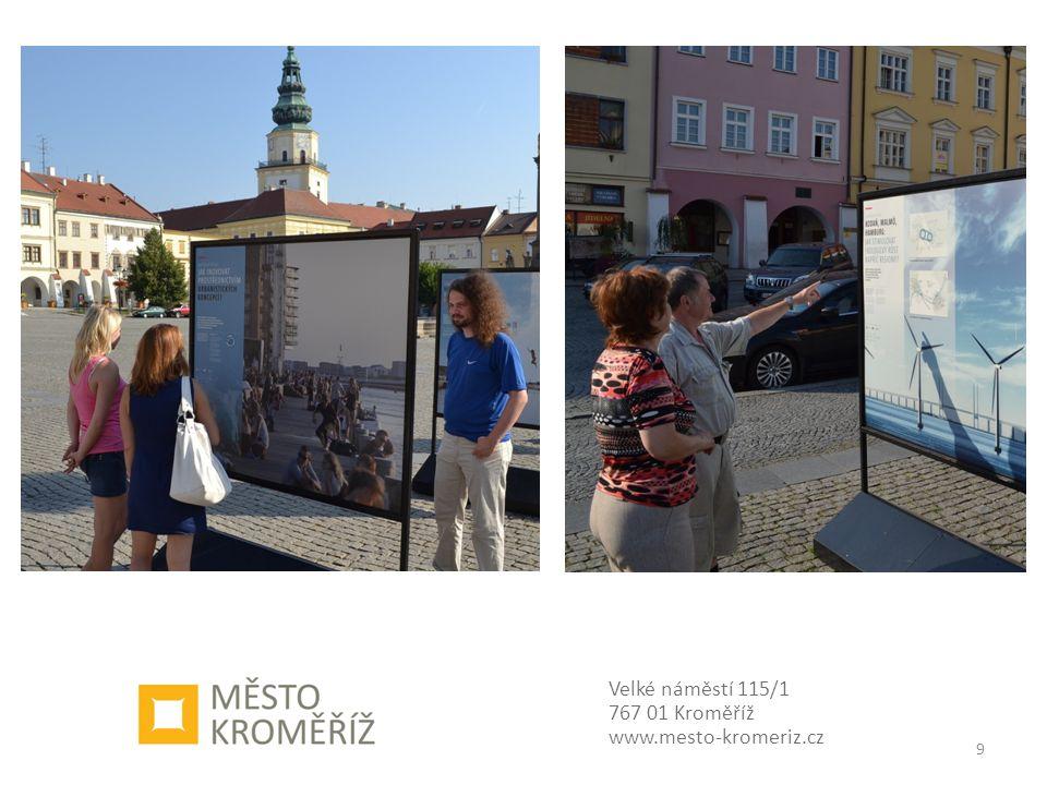 Velké náměstí 115/1 767 01 Kroměříž www.mesto-kromeriz.cz 9
