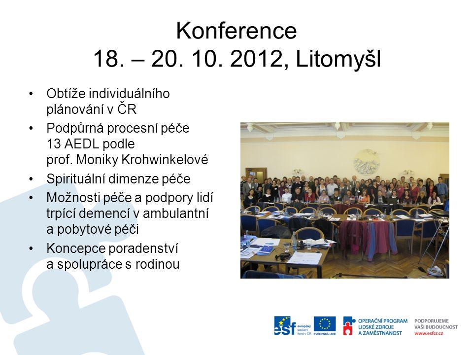 Konference 18. – 20. 10.