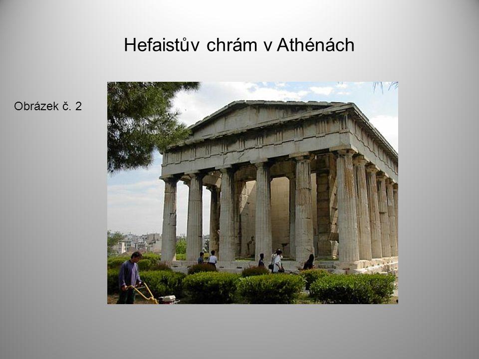 Hefaistův chrám v Athénách Obrázek č. 2