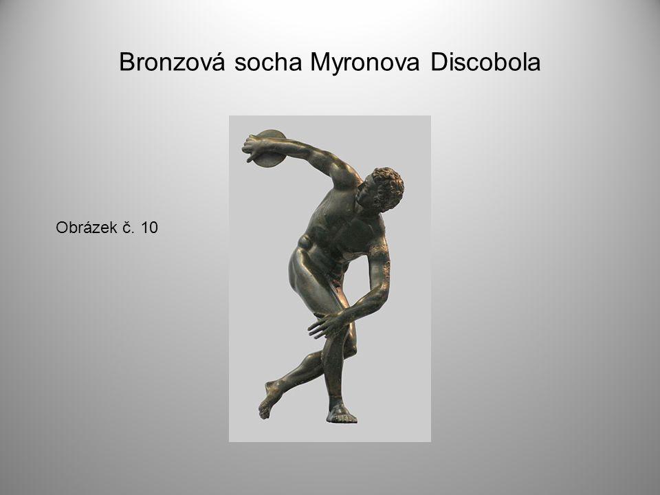 Bronzová socha Myronova Discobola Obrázek č. 10
