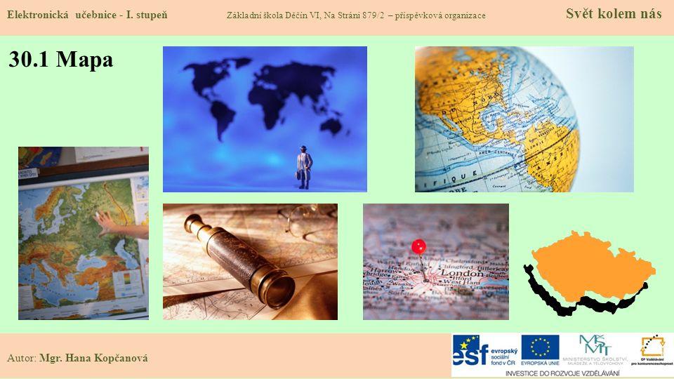 30.1 Mapa Elektronická učebnice - I.