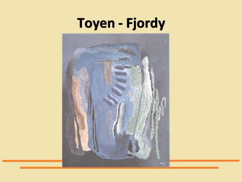 Toyen - Fjordy