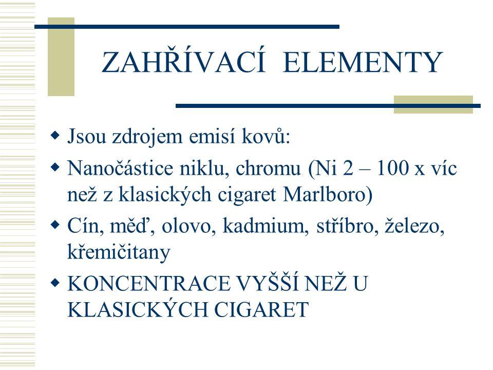 PŘÍJEM CHEMICKÝCH L.