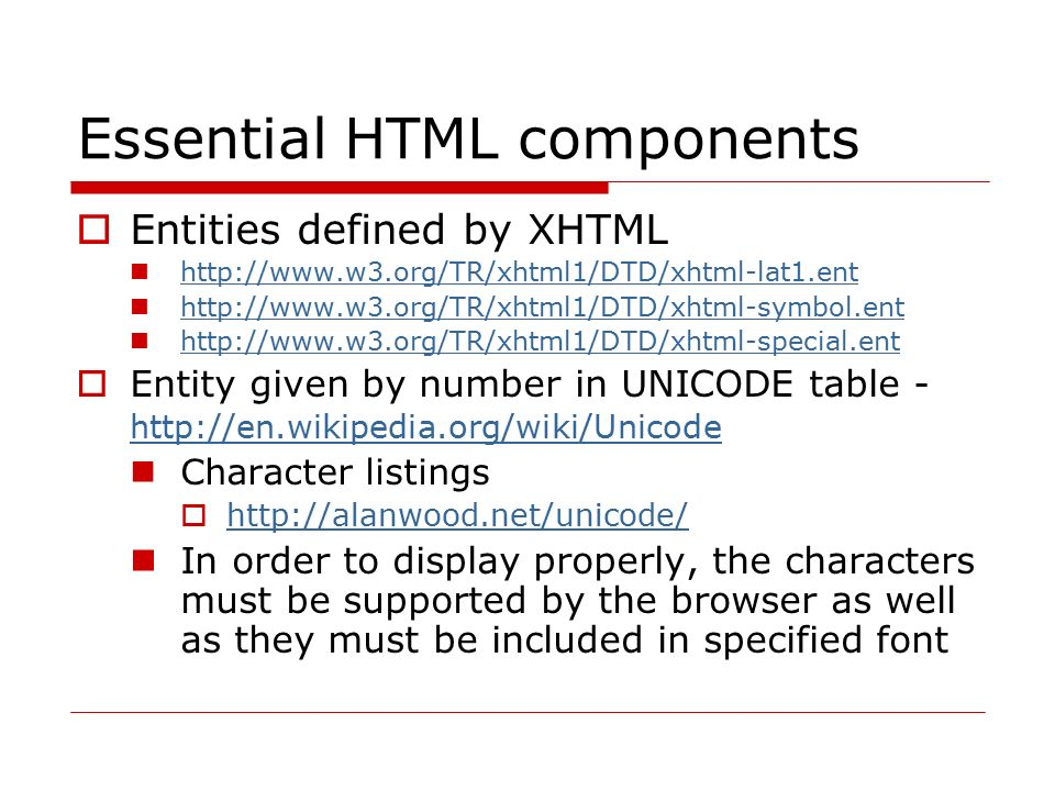 XHTML page structure <!DOCTYPE html PUBLIC -//W3C//DTD XHTML 1.0 Transitional//EN http://www.w3.org/TR/xhtml1/DTD/xhtml1-transitional.dtd >......