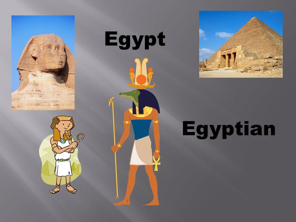 Egypt Egyptian