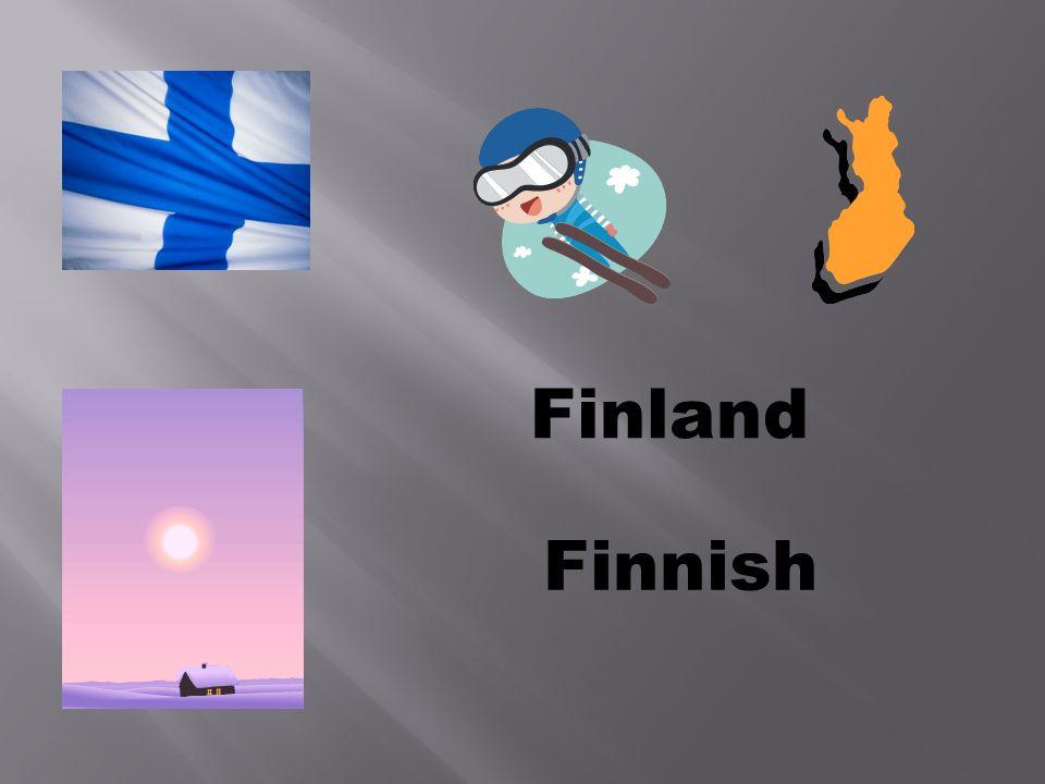 Finland Finnish