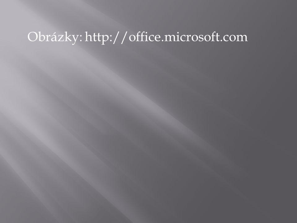Obrázky: http://office.microsoft.com