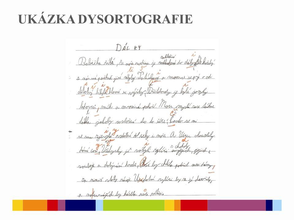 PRAMENY  Dysortogragfie.In: Metodický portál RVP: wiki [online].