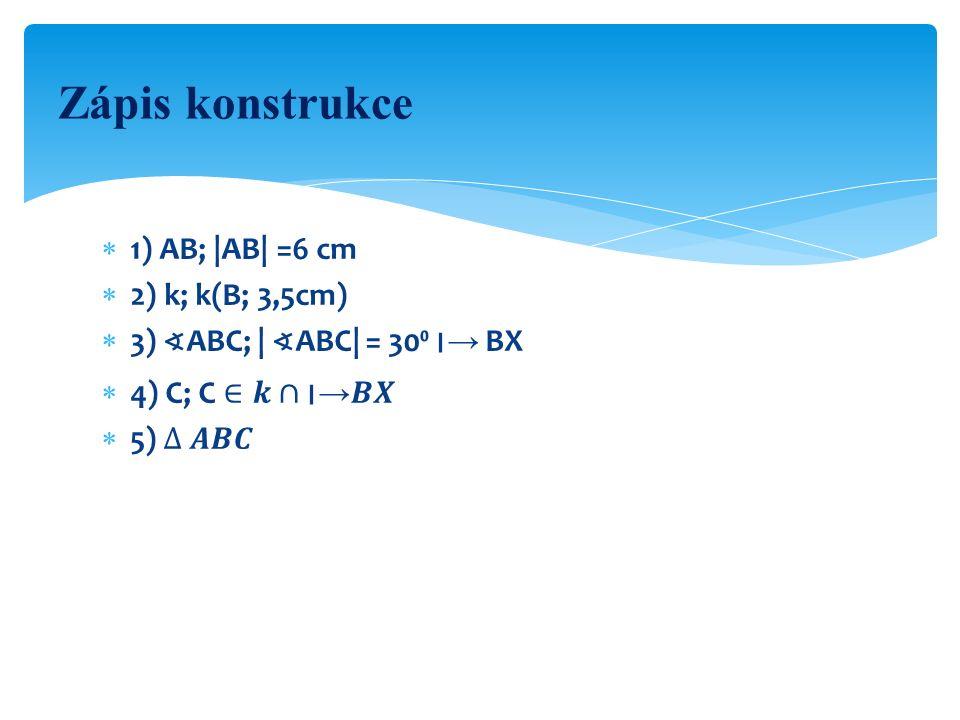 Konstrukce X AB C k