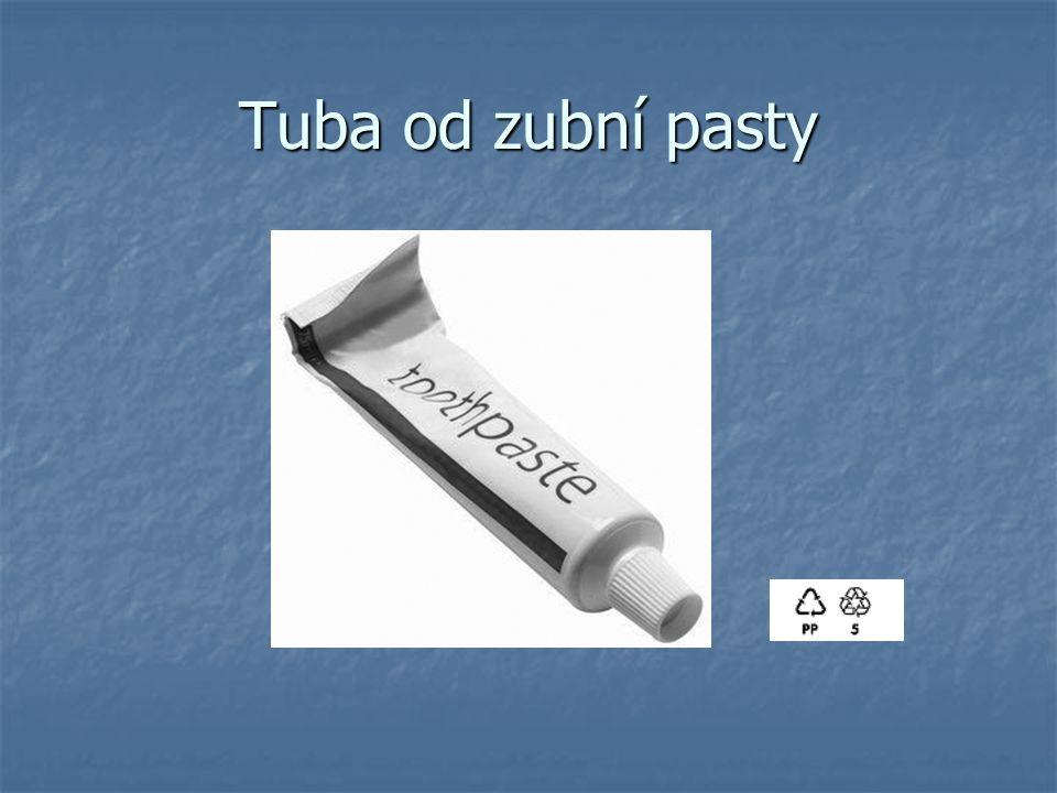 Tuba od zubní pasty