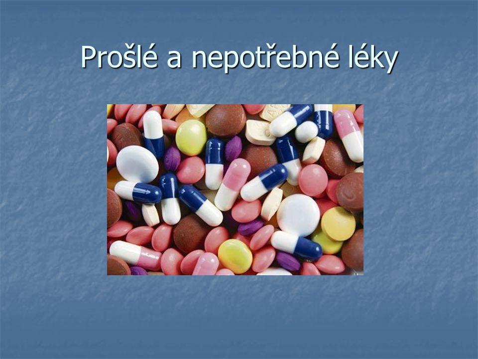 Prošlé a nepotřebné léky