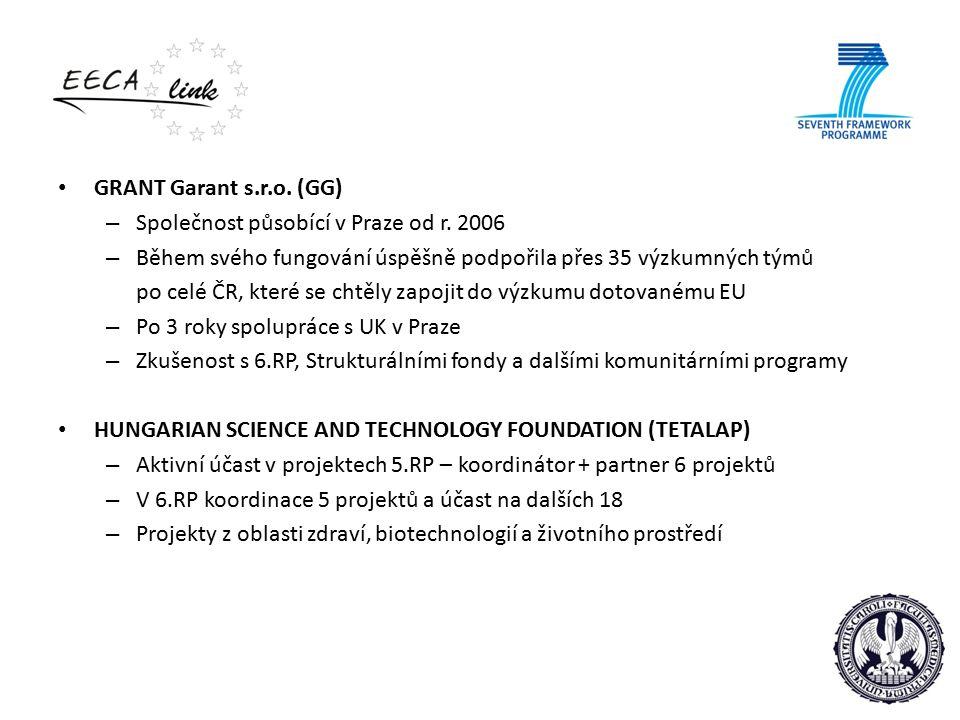 GRANT Garant s.r.o. (GG) – Společnost působící v Praze od r.