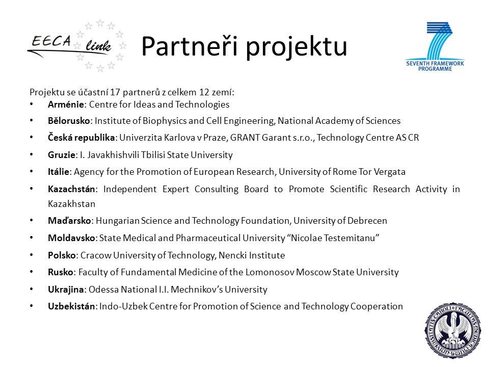 Priority EECAlink je projekt financovaný ze 7.