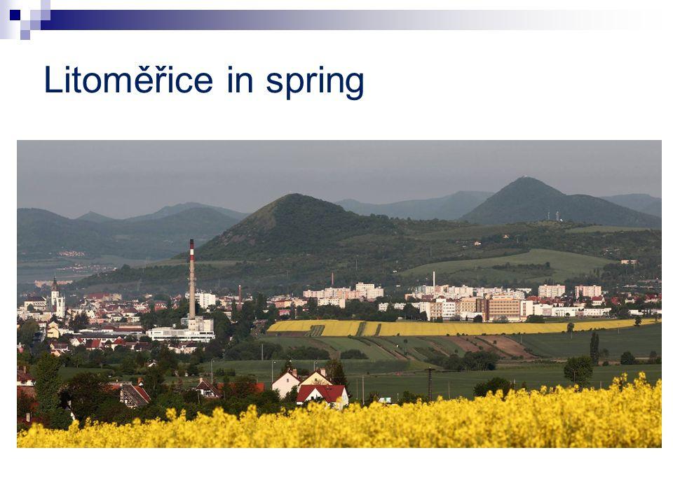 Litoměřice in spring