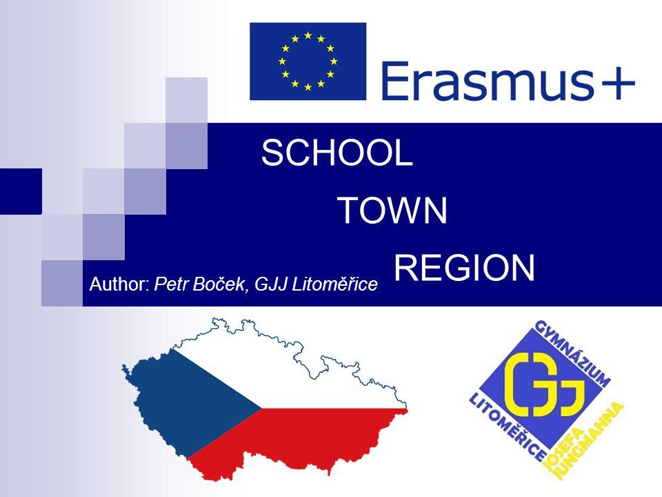 Summary ■ Ústecký kraj (Usti region) ■ Town Litoměřice ■ Gymnázium Josefa Jungmana (grammar school)