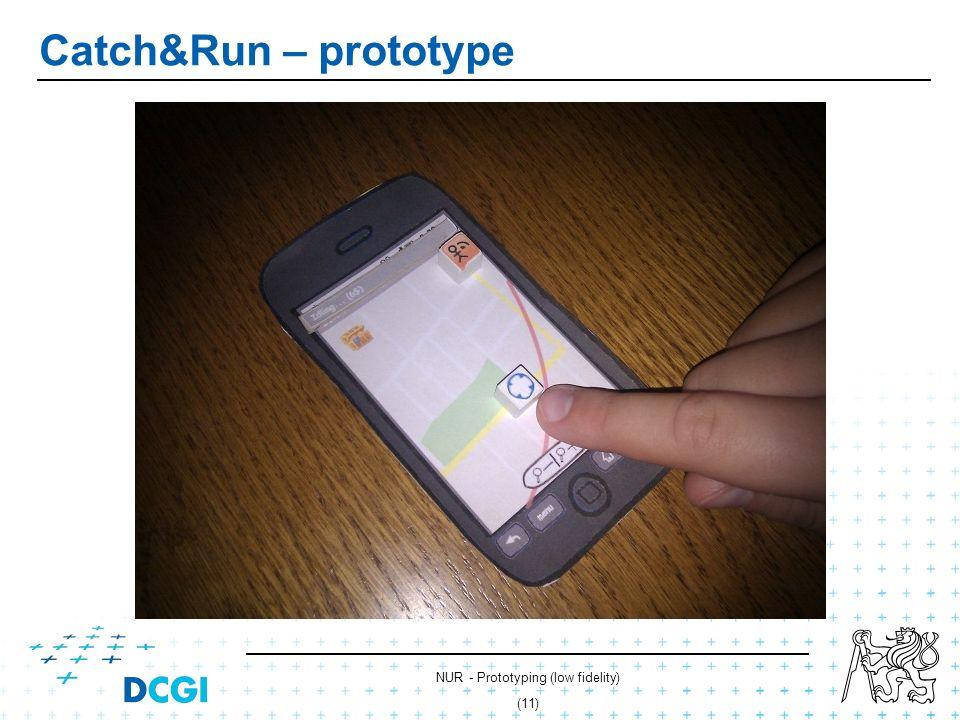 NUR - Prototyping (low fidelity) (10) Catch&Run – prototype