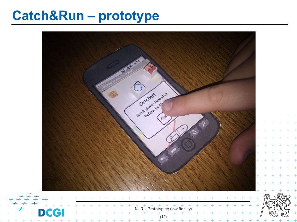 NUR - Prototyping (low fidelity) (11) Catch&Run – prototype