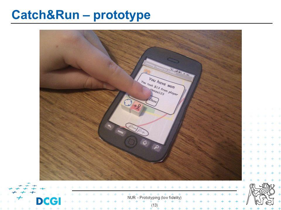 NUR - Prototyping (low fidelity) (12) Catch&Run – prototype