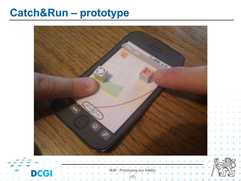 NUR - Prototyping (low fidelity) (16) Catch&Run – prototype