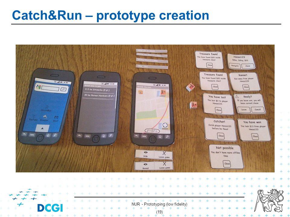 NUR - Prototyping (low fidelity) (18) Catch&Run – prototype