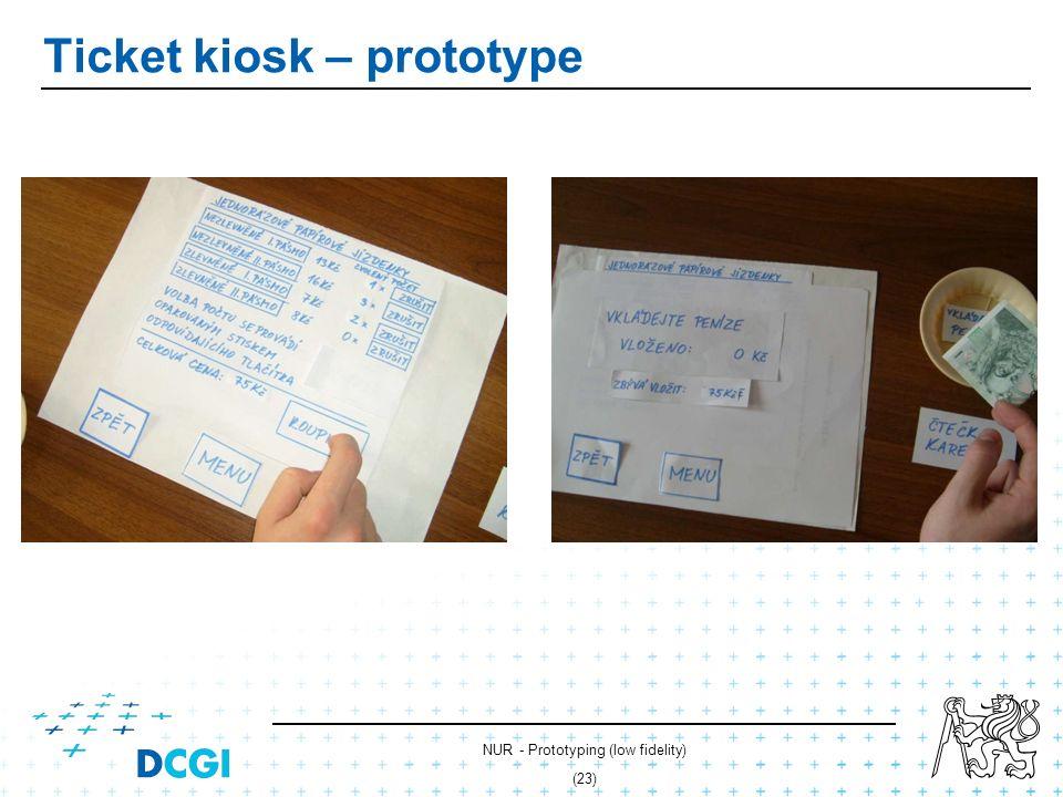 NUR - Prototyping (low fidelity) (22) Ticket kiosk – prototype