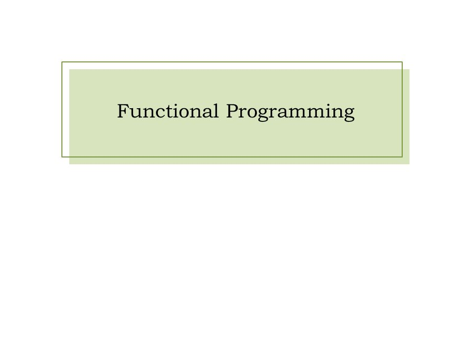 NPRG049— Programovací jazyky OCaml a F#Tomáš Petříček, http://tomasp.net/mffhttp://tomasp.net/mff Functional programming »1930s – Lambda calculus Theoretical foundation of functional languages Attempt to formalize all mathematics »1958 – LISP First functional (computer) programming language »1978 – ML (meta-language) Originally used in theorem proving systems Useful as a general purpose language too!
