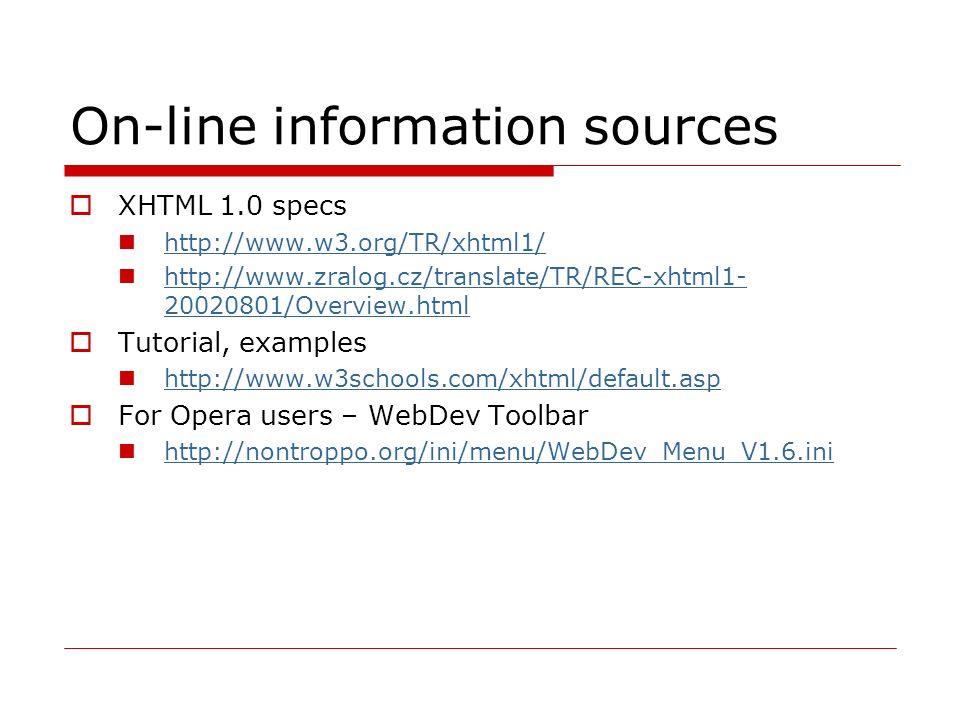 Document structure elements Toto je 1.odstavec textu Toto je 2.