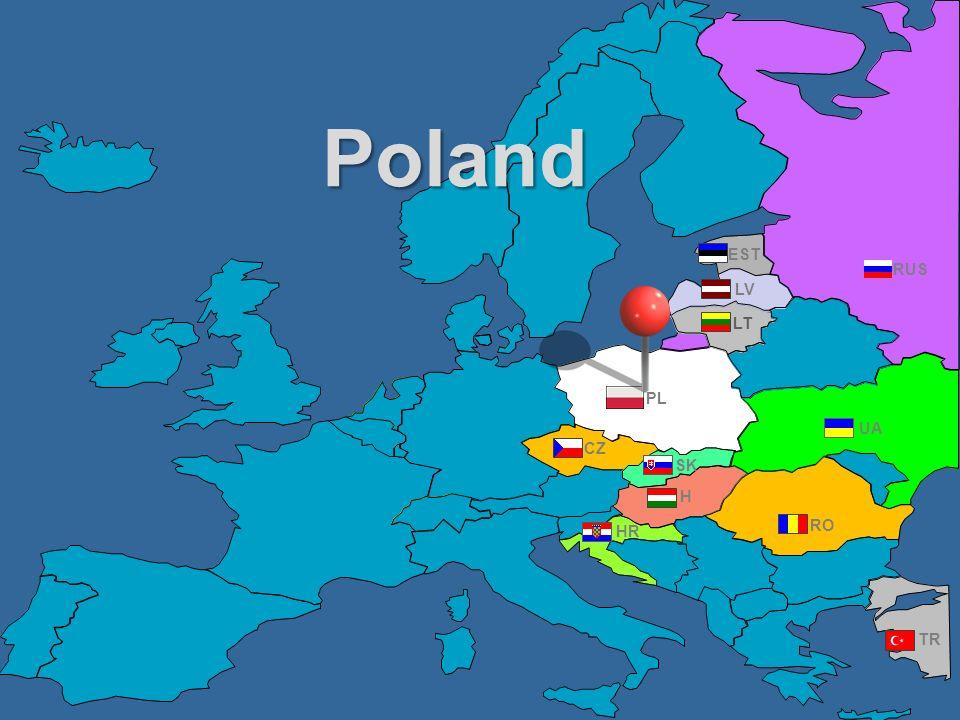 RUS UA PL EST RO TR CZ HR H LV LT SK Poland