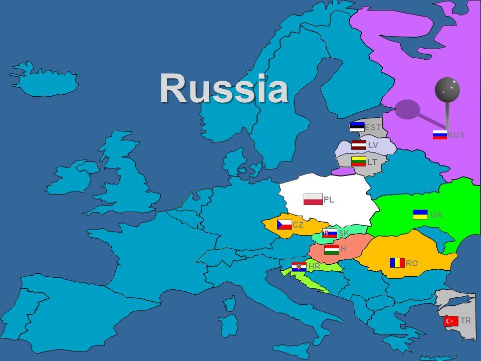 RUS UA PL EST RO TR CZ HR H LV LT SK Russia