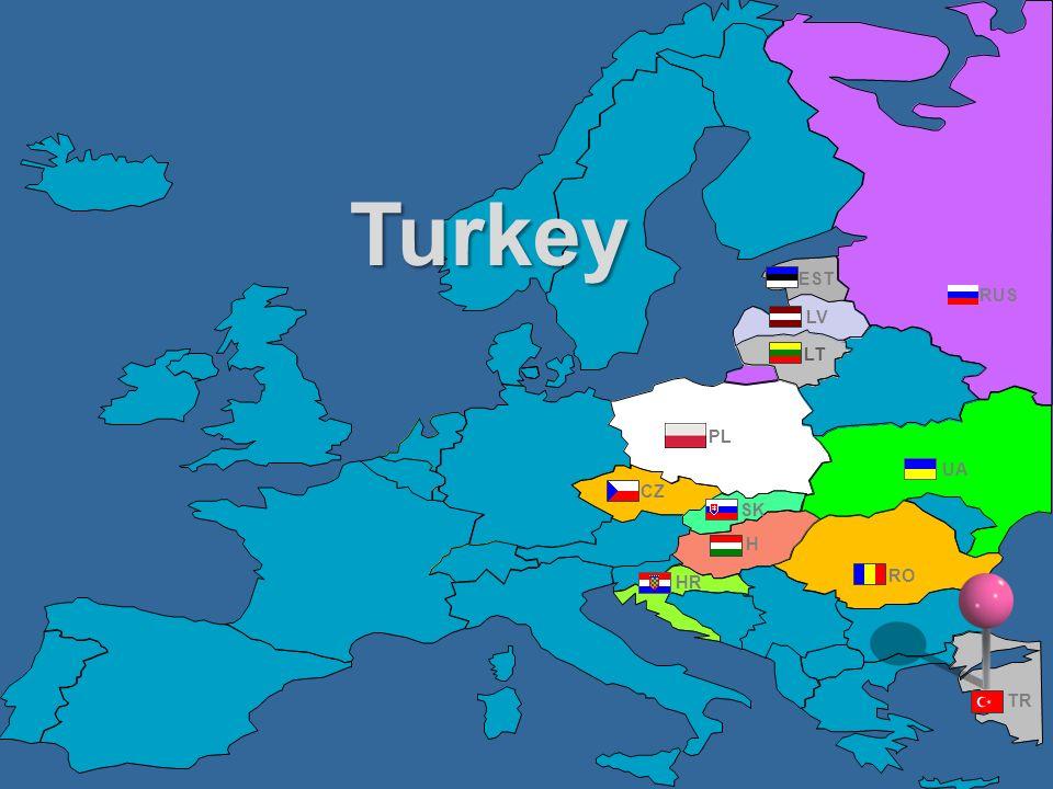 RUS UA PL EST RO TR CZ HR H LV LT SK Turkey